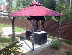 Садовые металлические кованые арки