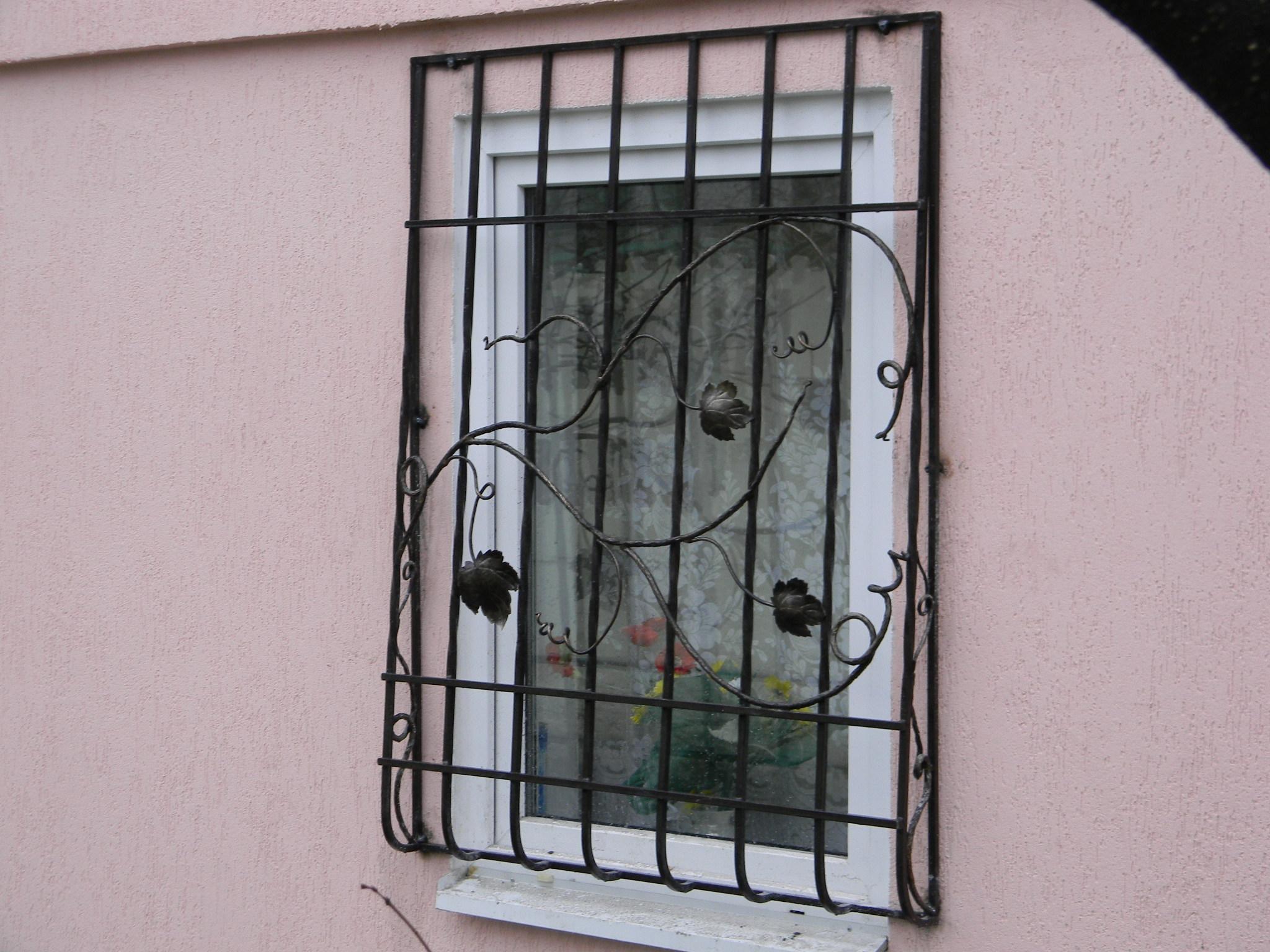 Решетки на окна своими руками - 2 варианта! 95